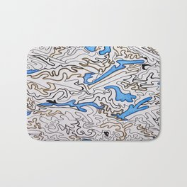 Abstract Pattern #1 Bath Mat
