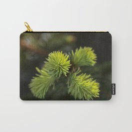 New Growth Pine Needles Carry-All Pouch