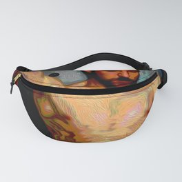 Male Oil Nude Fanny Pack