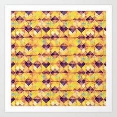 Pretty tiles Art Print