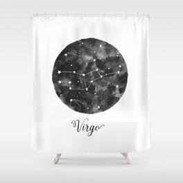 Virgo Constellation Shower Curtain