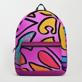 Native Butterfly by Mandy Groves Backpack