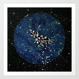 Gemini Constellation Art Print