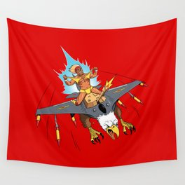 Male Pattern Badness Wall Tapestry