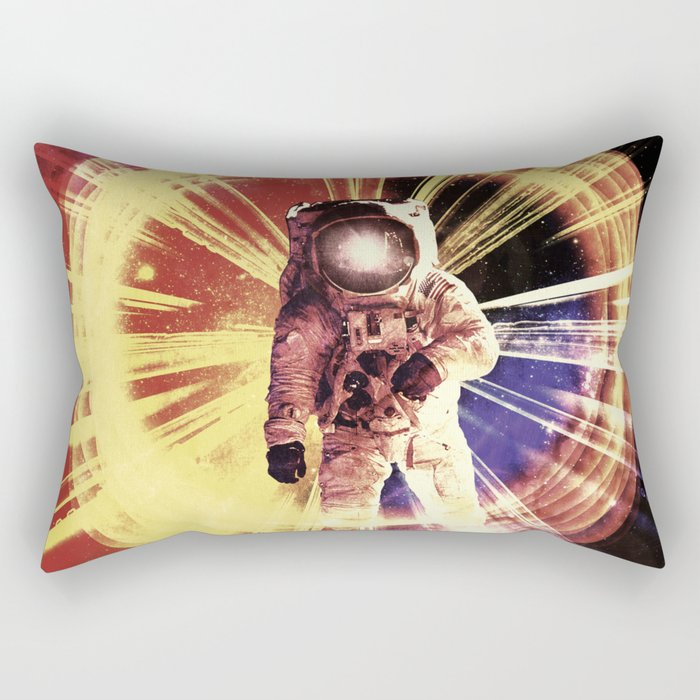 Too Much Space Out There. Rectangular Pillow