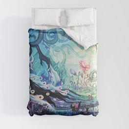Vivid Dreaming (Left Version) Comforters