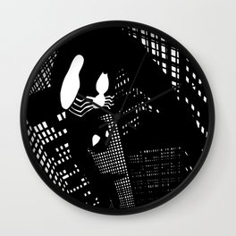 Night Spider  Wall Clock