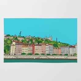 Lyon, France Rug