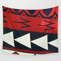 new zealand Wall Tapestries featuring NEW ZEALAND by K. Ybarra/FotoHAUS