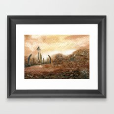 Familiar Places Framed Art Print