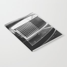 Rolls Grille // Black Luxury Car Close Up Photography Expensive Ultra Wealthy Autos Notebook