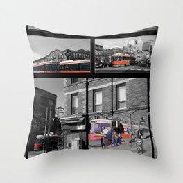 Red Rocket 30 Throw Pillow
