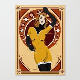 Leonis (Nouveau) Canvas Print