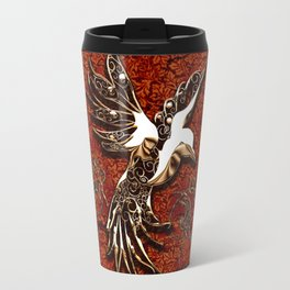 Beautiful, decorative bird Travel Mug