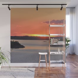 Swedish Archipelago Sunset Wall Mural