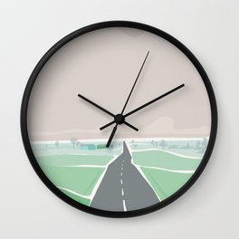 Road to Lagom Wall Clock