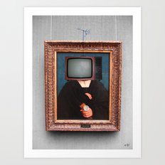 The Painting Collection TV Collage Art Print