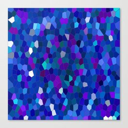Geometrically mosaically speaking... Canvas Print