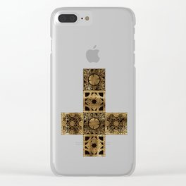 Lament Configuration Cross Clear iPhone Case