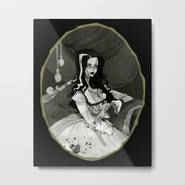 Bride of the Monster Metal Print