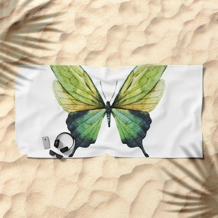 Butterfly 01 Beach Towel