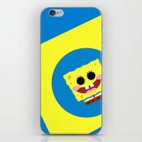 spongebob iPhone & iPod Skins featuring Spongebob Squarepants by Eyetoheart