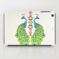 selena gomez iPad Cases featuring peacock by Manoou