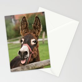 Laughing Donkey | Lachender Esel Stationery Cards