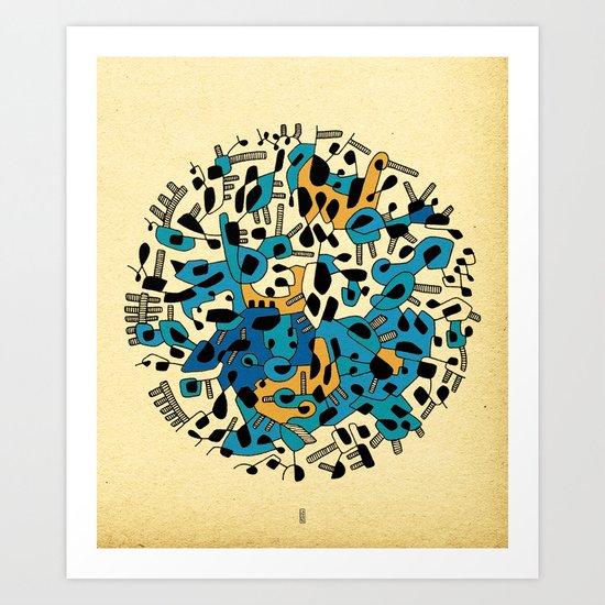 - age of the sun_03 - Art Print