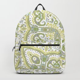 Faux Hand Embroidery Backpack