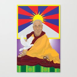His Holiness Canvas Print