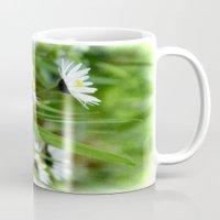 daisies Mugs featuring Daisies by Lynn Bolt