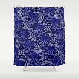 Op Art 117 Shower Curtain