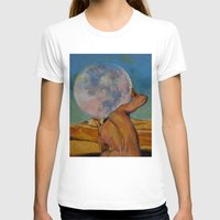 atlas T-shirts featuring Atlas by Michael Creese
