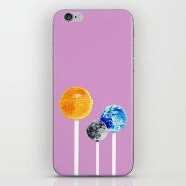 SUN MOON EARTH LOLLIPOPS iPhone Skin