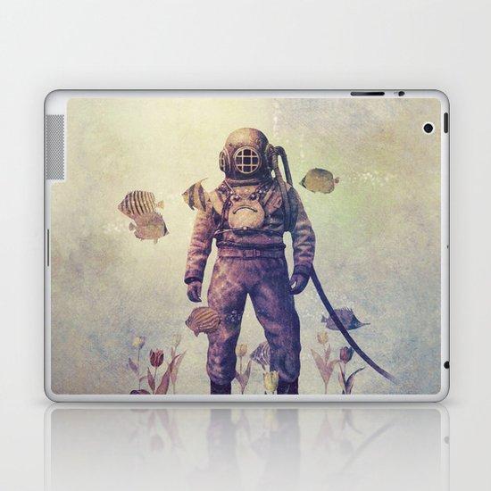 Deep Sea Garden - colour option Laptop & iPad Skin