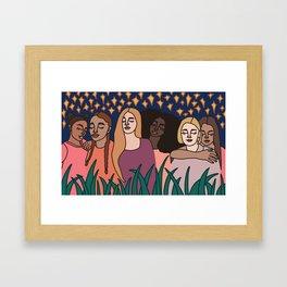 Stardust Sisters Framed Art Print