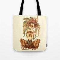 pirate Tote Bags featuring Pirate by Fabio Mancini