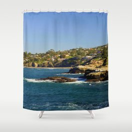 Lazy Day in La Jolla Shower Curtain
