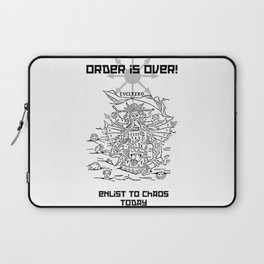 Enlist to Chaos Laptop Sleeve