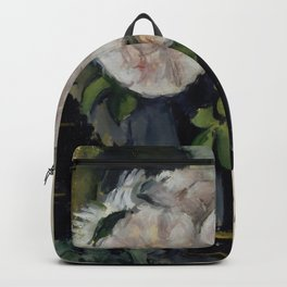 """Paul Cezanne """"Still Life with Blue Pot"""" Backpack"""