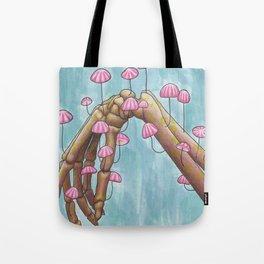 Pretty in Parachute Tote Bag