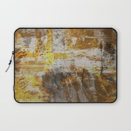 Abstract 20 - Study In Bronze Laptop Sleeve