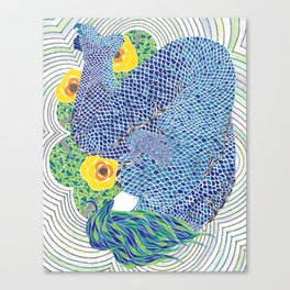 Rusalka/Mermaid Canvas Print