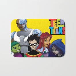Teen Titans Bath Mat