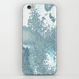 Aqua Sprawl iPhone Skin