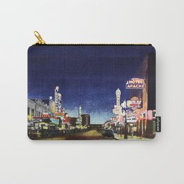 OLD VEGAS BY NIGHT Carry-All Pouch
