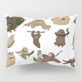 Sloth Party Pillow Sham