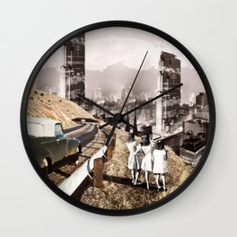 Back to the City Wall Clock