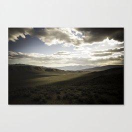 Wildrose Valley Canvas Print